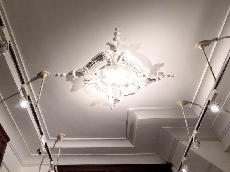 25天井の漆喰