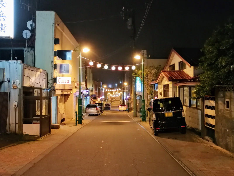 08夜の繁華街