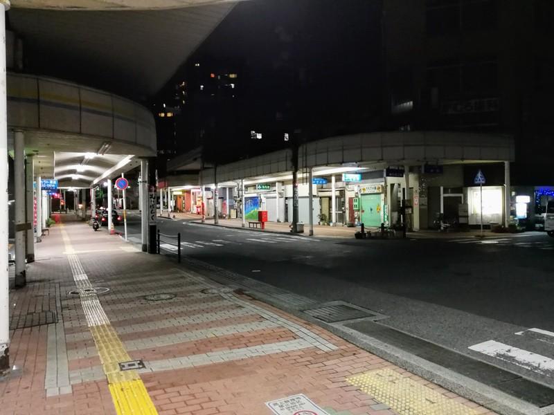 01夜の商店街