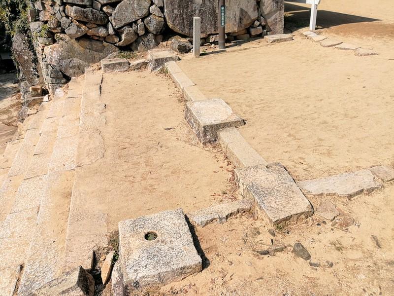 35ニの櫓門跡