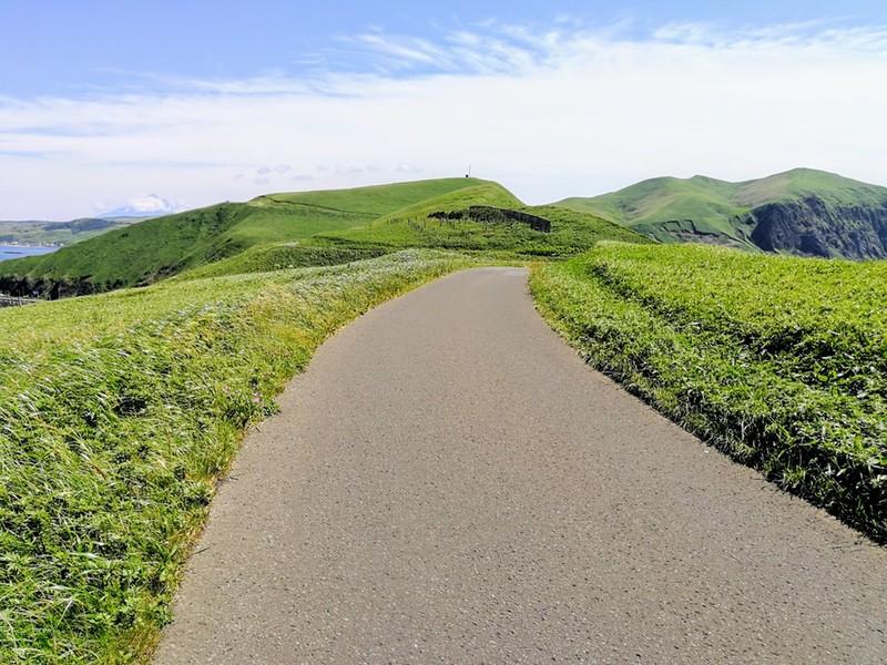 15スコトン岬方面 山道