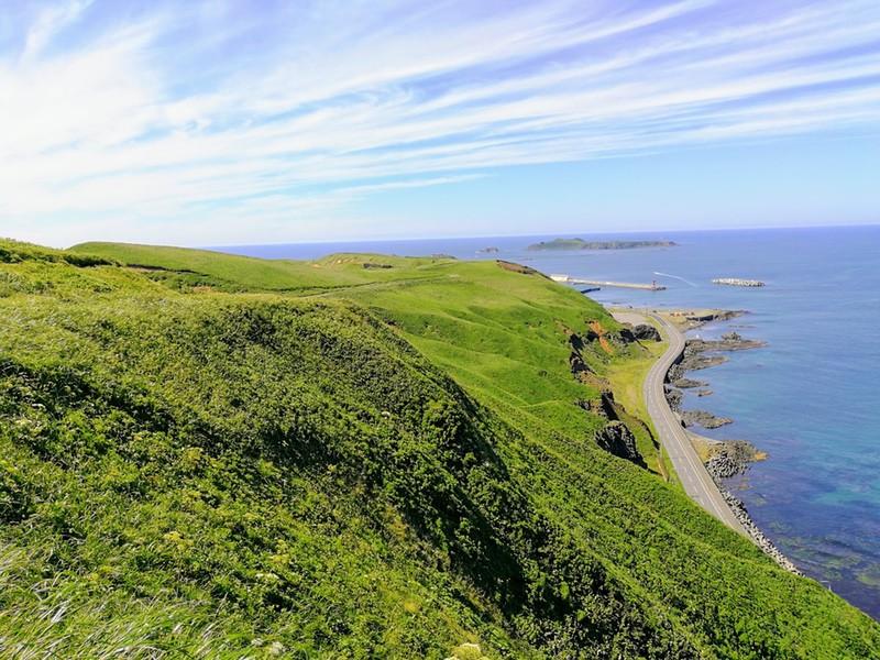25スコトン岬方面 山道