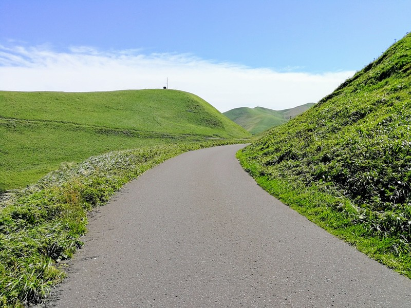 19スコトン岬方面 山道