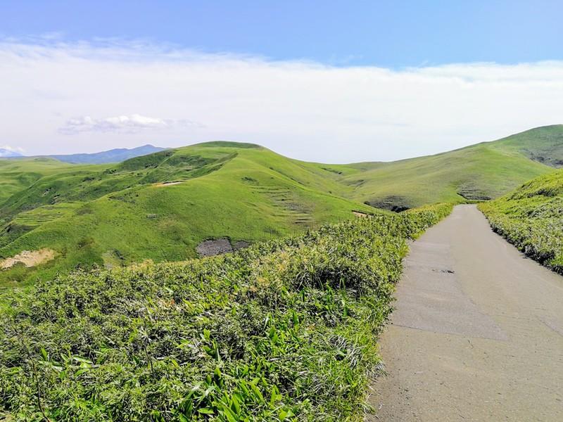 26スコトン岬方面 山道