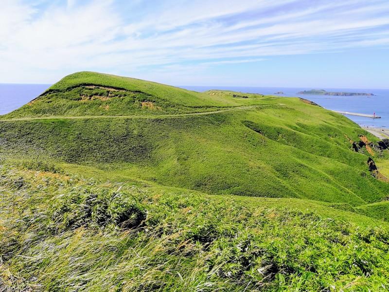 21スコトン岬方面 山道
