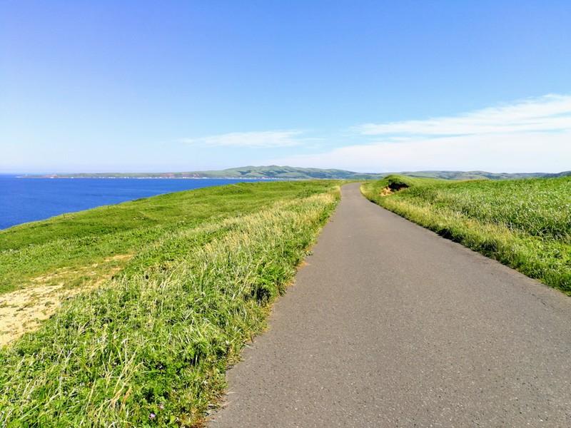 14スコトン岬方面 山道
