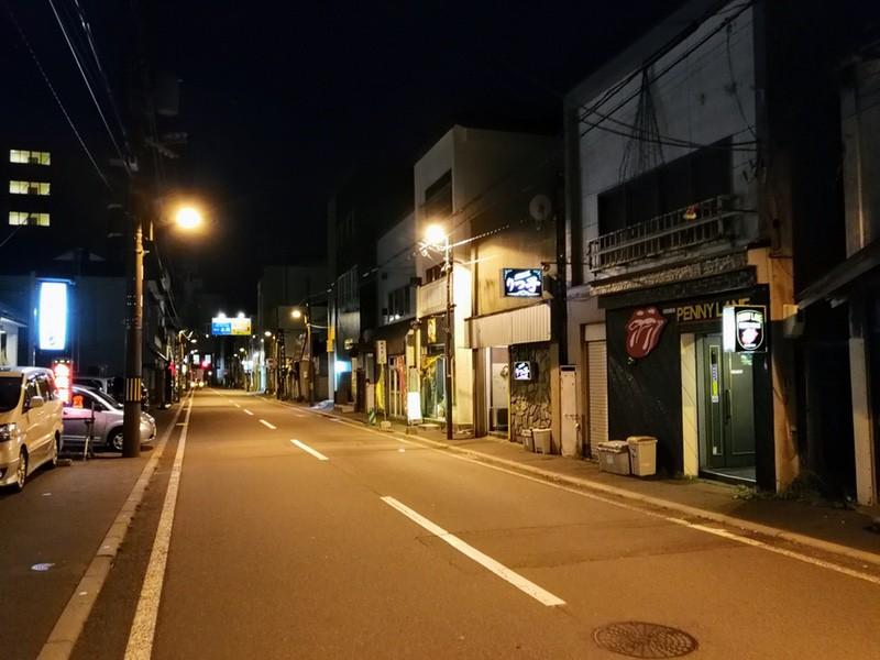 夜の室蘭の街03