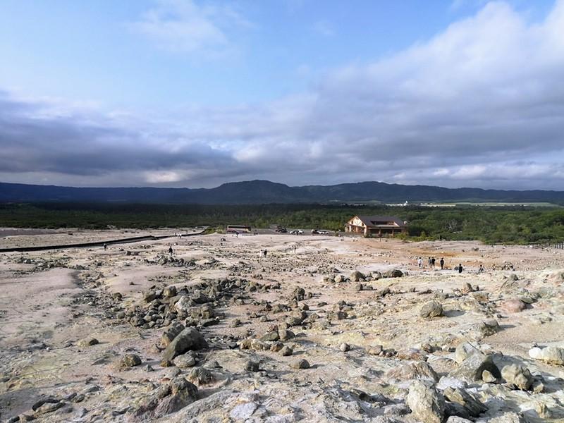 14硫黄山からの景色