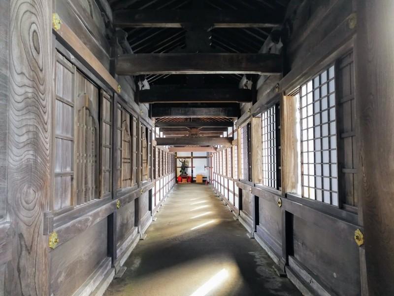 10回廊 東司跡方面