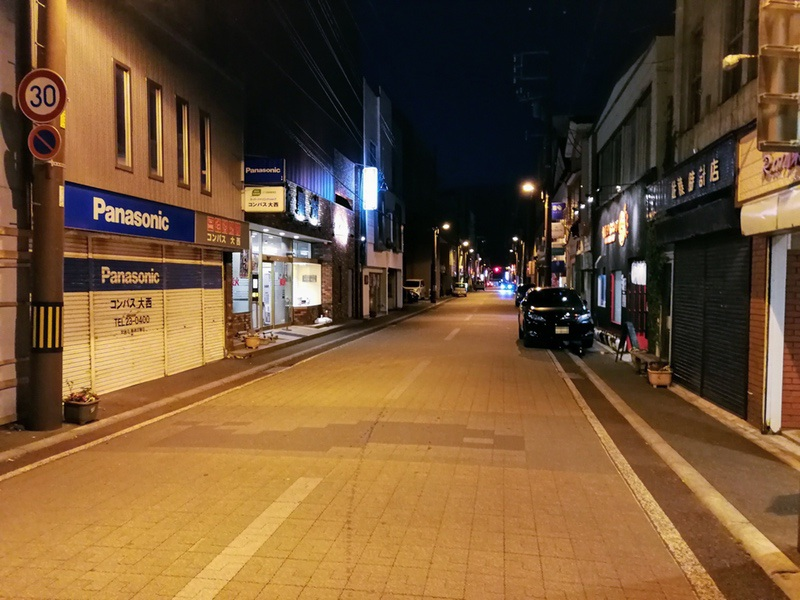 夜の室蘭の街05
