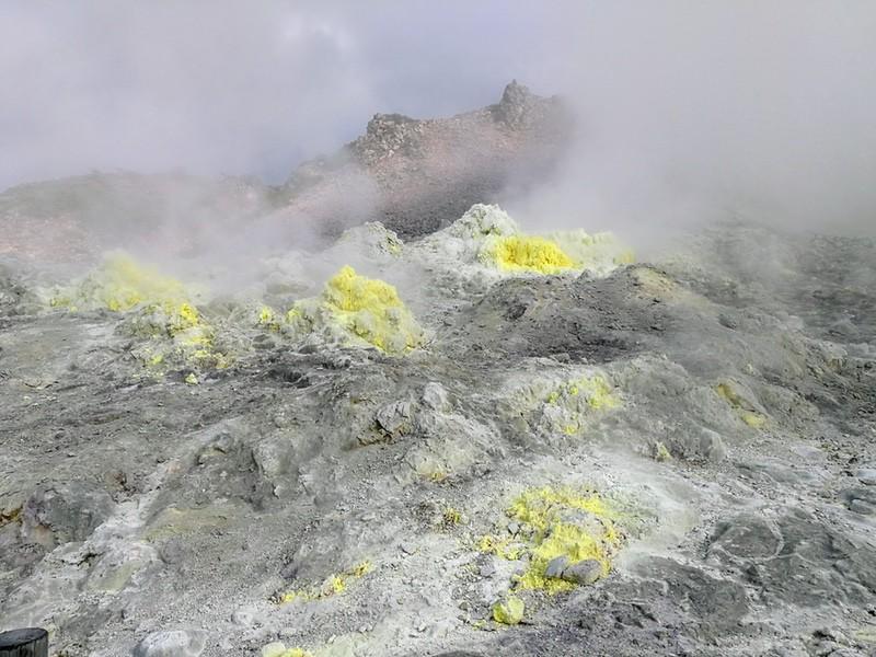 13硫黄山