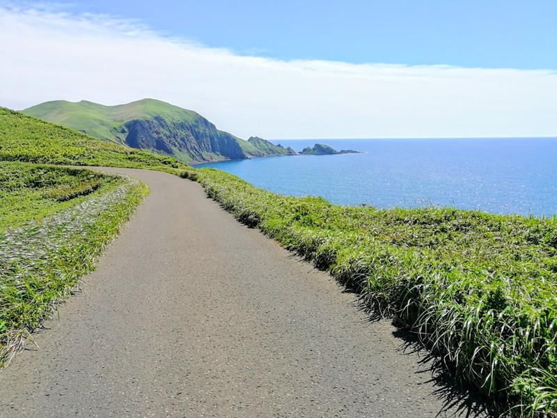 16スコトン岬方面 山道