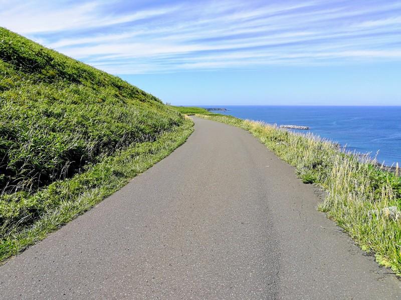 18スコトン岬方面 山道