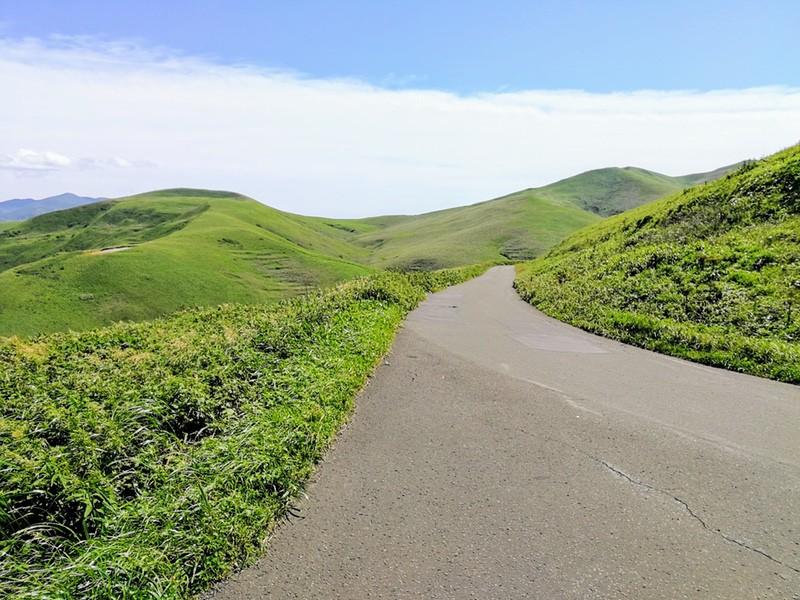 23スコトン岬方面 山道