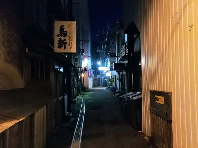 夜の室蘭の街02