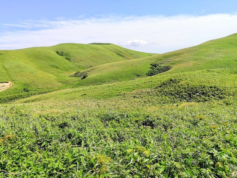 27スコトン岬方面 山道