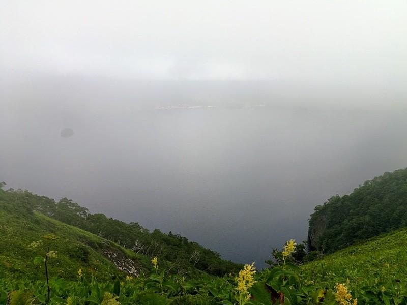 04霧の摩周湖