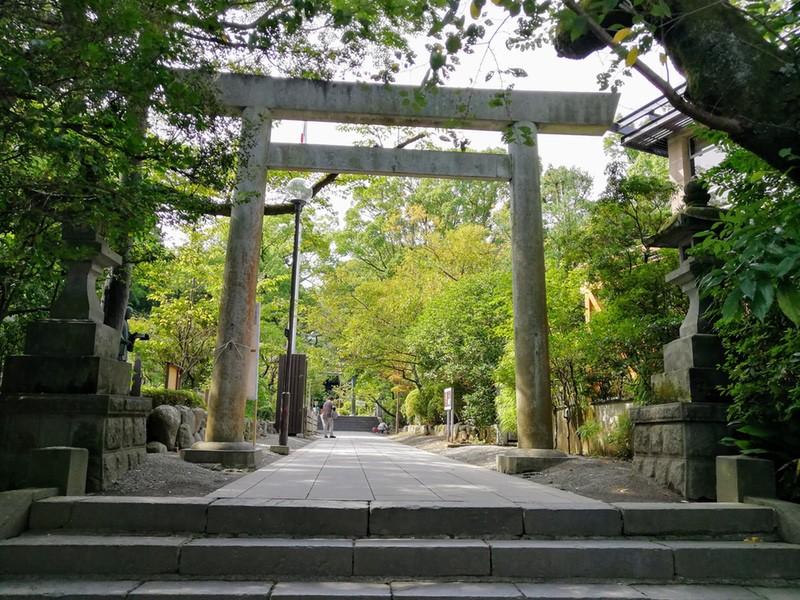 22報徳二宮神社鳥居