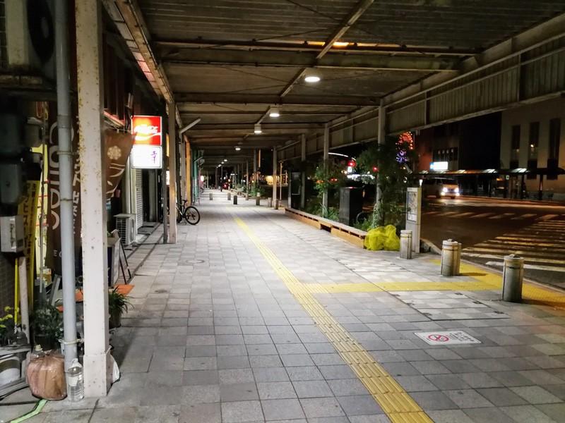 06夜の商店街