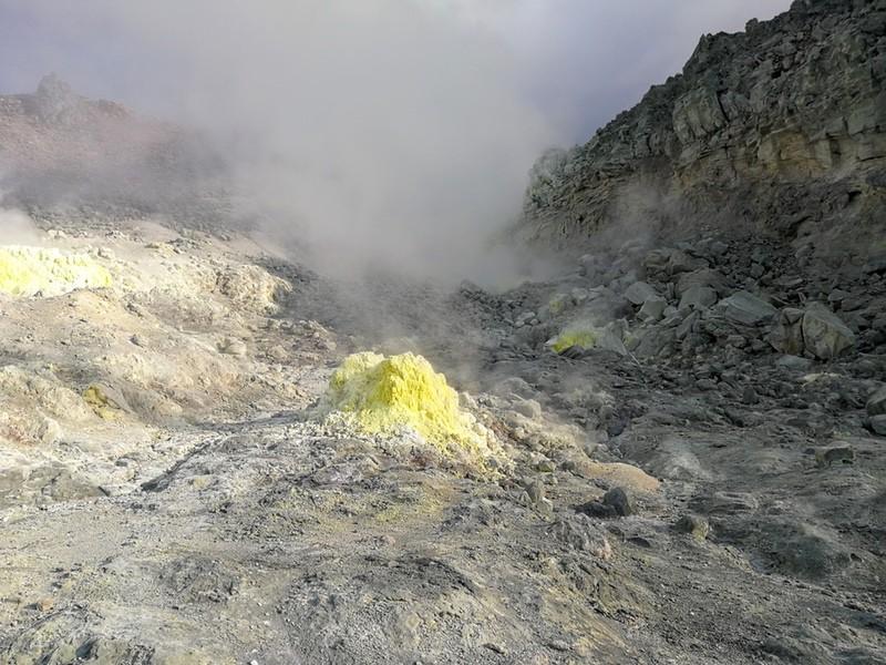 12硫黄山