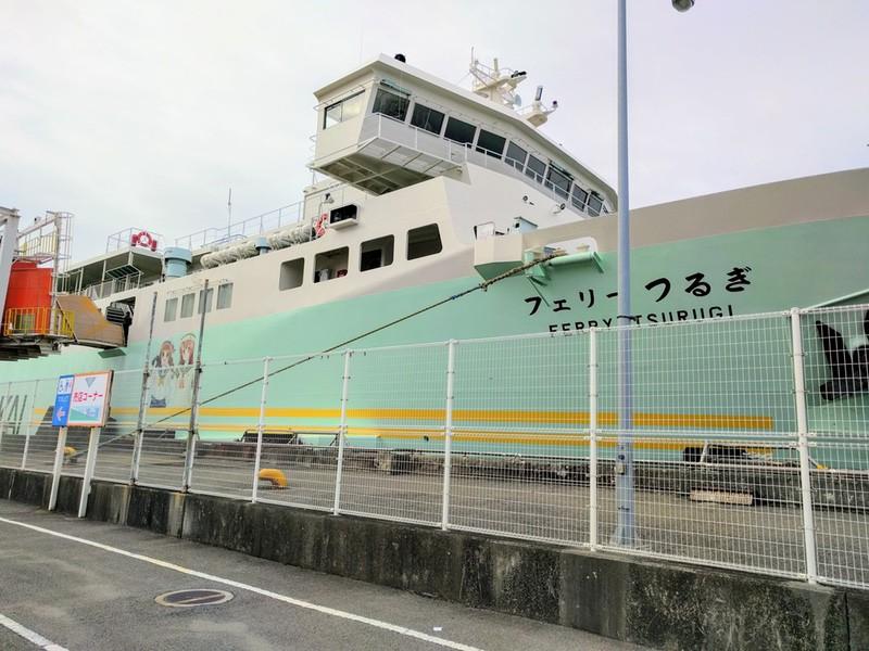 南海フェリーつるぎで徳島から和歌山へ ゆういちろグ