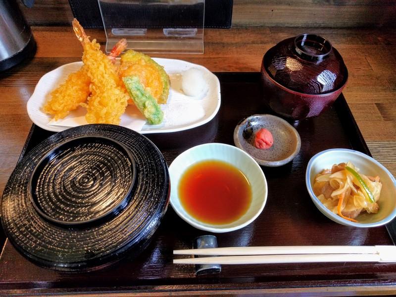 09天ぷら定食