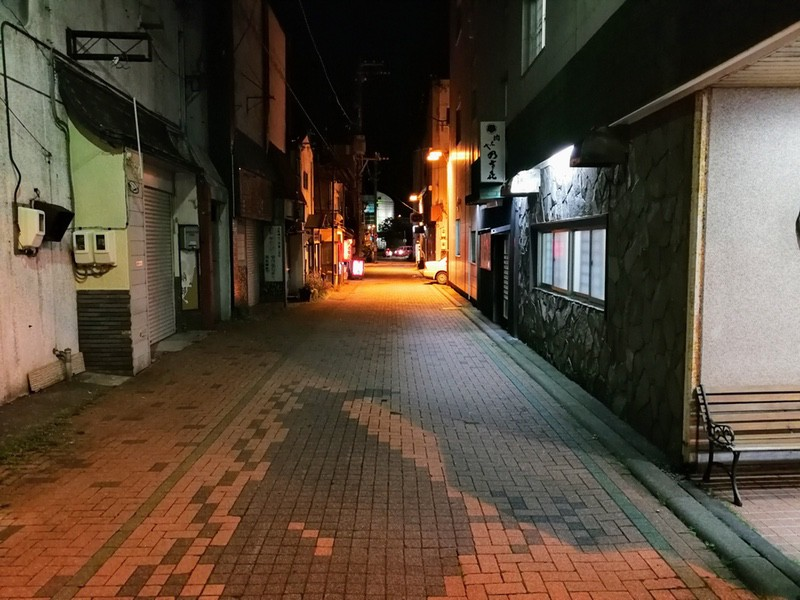 夜の室蘭の街06
