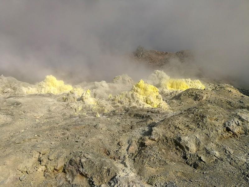 11硫黄山