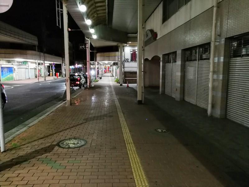 02夜の商店街