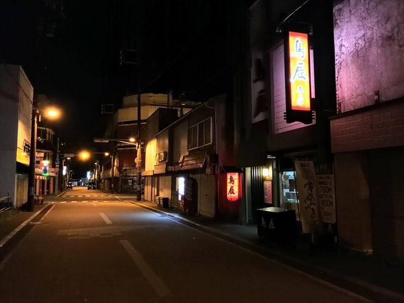 夜の室蘭の街07