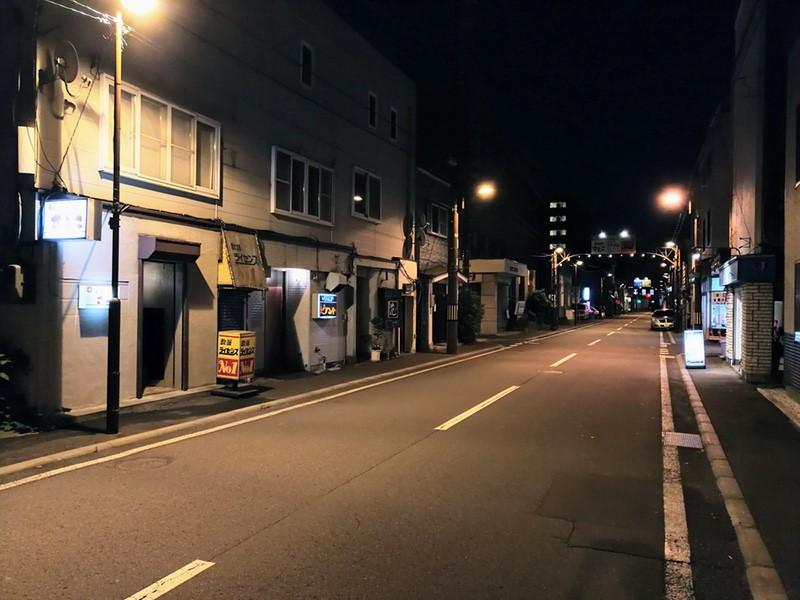 夜の室蘭の街01