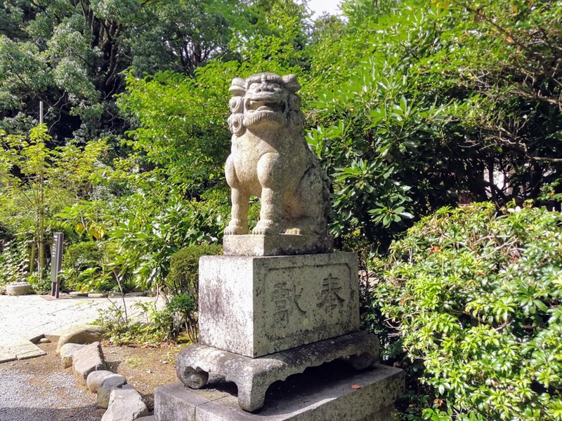 24報徳二宮神社狛犬さん