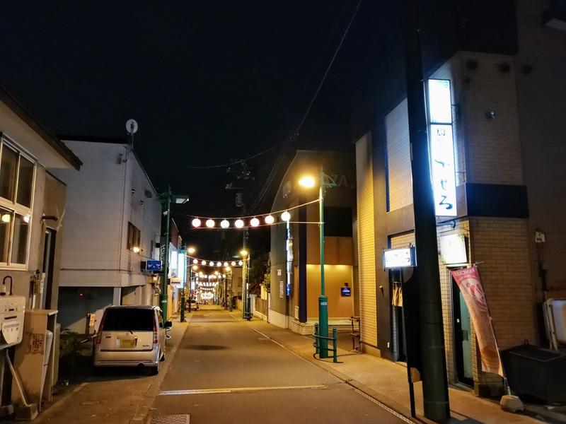 09夜の繁華街